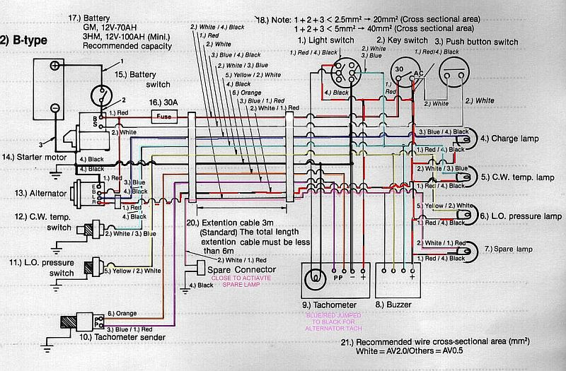 yanmar engine wiring wiring diagram for yanmar engines cruisers sailing photo gallery