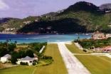 St.Barts Airport Runway