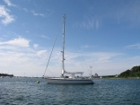 At Anchor in Marthas vineyard