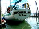 Bolero's aft cabin