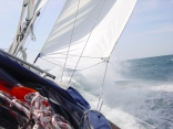 Giving a Bavaria 49 a run for her money...