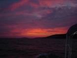 Croatrian sunset, Skadrin Croatia