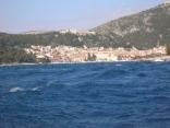 Passing The Port Of Hvar