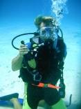 Bonaire underwater view