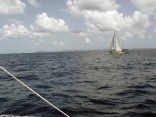 Running to Curacao from Ivan