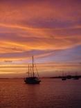 Our back deck-Bonaire