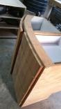Saloon Table Cabinet, W Drawers & Door