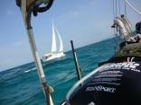 Boat Sailing Beside Us