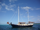 Anchored At Devil's Cay