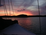 Sunset Hatchet Bay