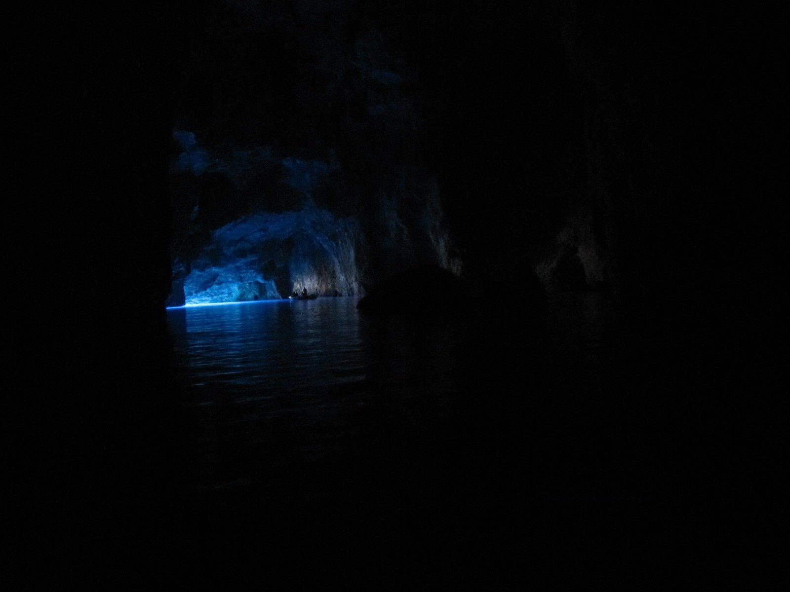 The Blue Cave (greece)
