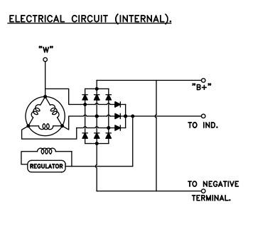 Hitachi Alternator Wiring Diagram from www.cruisersforum.com