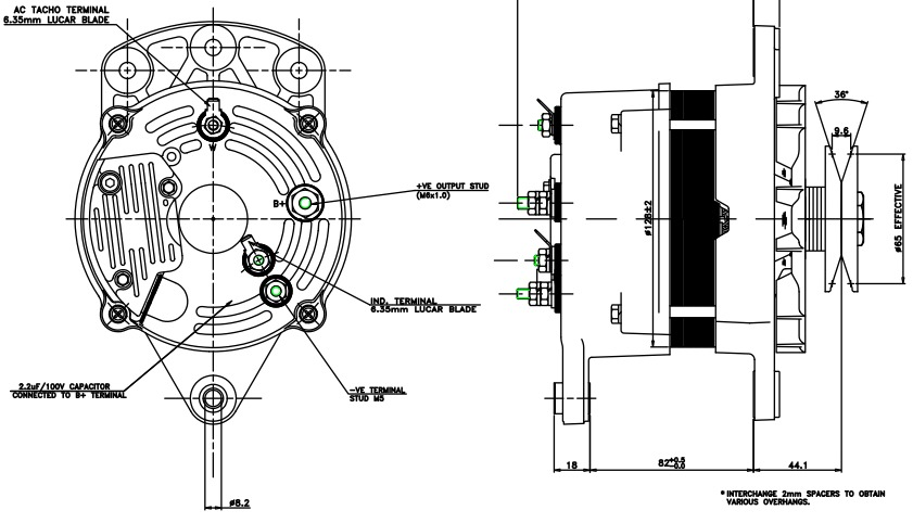 yanmar hitachi alternator wiring diagram