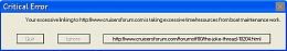 Click image for larger version  Name:Error Message-CruiserForum-crop.jpg Views:309 Size:98.8 KB ID:100030