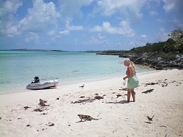 Click image for larger version  Name:Beverly feeding iguanas.jpg Views:388 Size:410.4 KB ID:100598