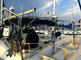 Click image for larger version  Name:Davits and OB engine.jpg Views:330 Size:428.4 KB ID:102093