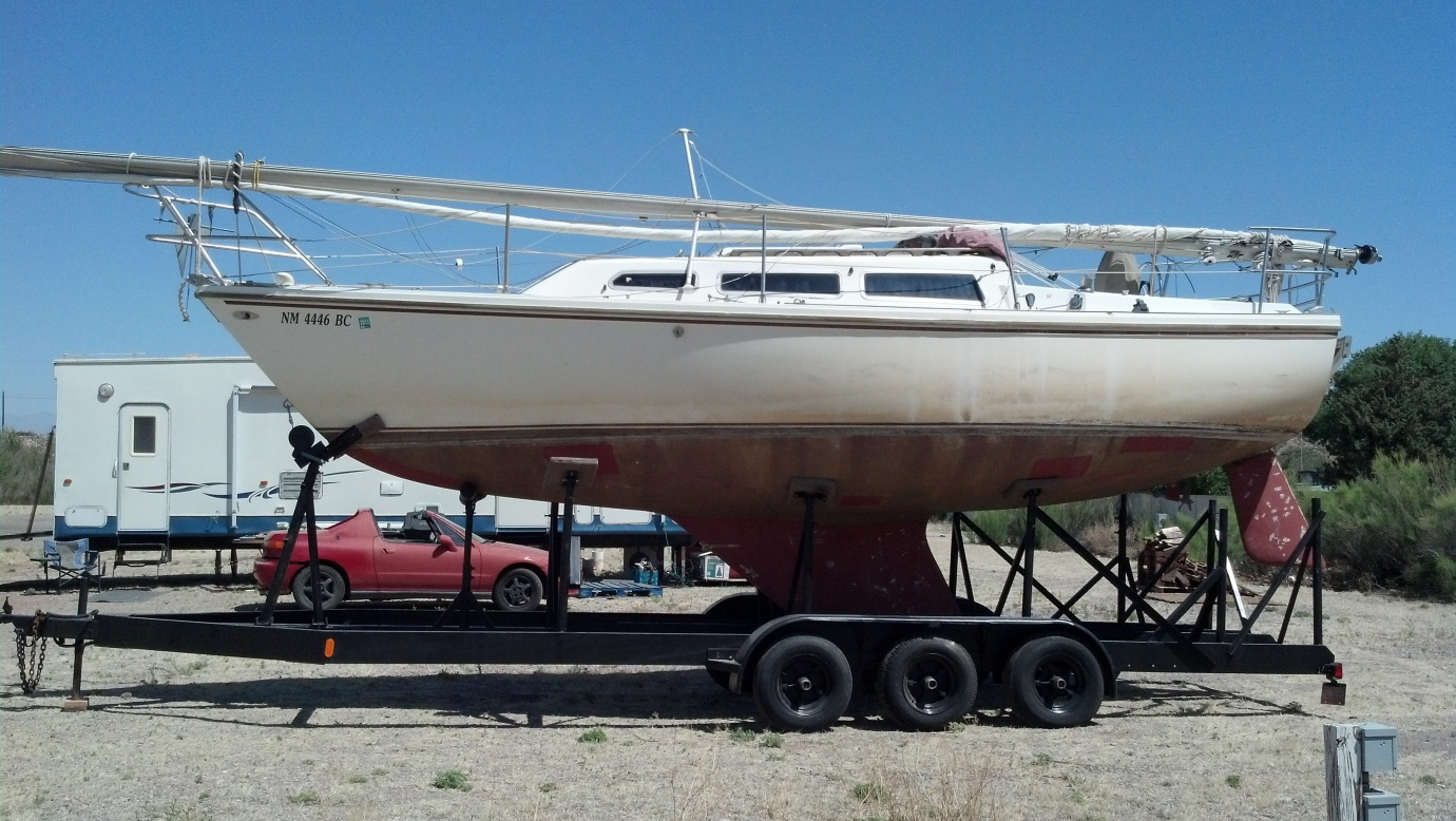 For Sale: 1980 Catalina 27 on Trailer - Cruisers & Sailing
