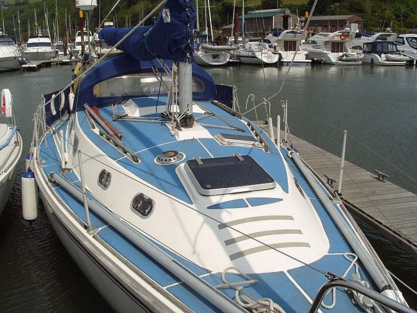 Click image for larger version  Name:Treadmaster Light Blue on Deck.jpg Views:92 Size:131.8 KB ID:103486