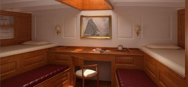 Click image for larger version  Name:YW AR 1912 88ft Konigin2  WOOD $2300K Stateroom 1.jpg Views:163 Size:22.2 KB ID:103772