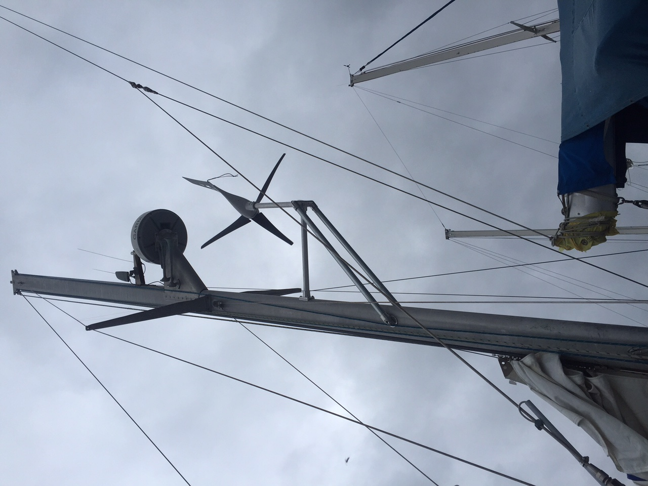 Click image for larger version  Name:Wind Generator Mount 1.JPG Views:302 Size:273.2 KB ID:104901