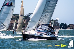 Click image for larger version  Name:Beccie and CJ on Kynntana at Westpoint Regatta_2015.jpg Views:281 Size:420.6 KB ID:106462