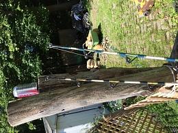 For sale 2 50lb deep sea fishing rods reels cruisers for Deep sea fishing rods and reels for sale