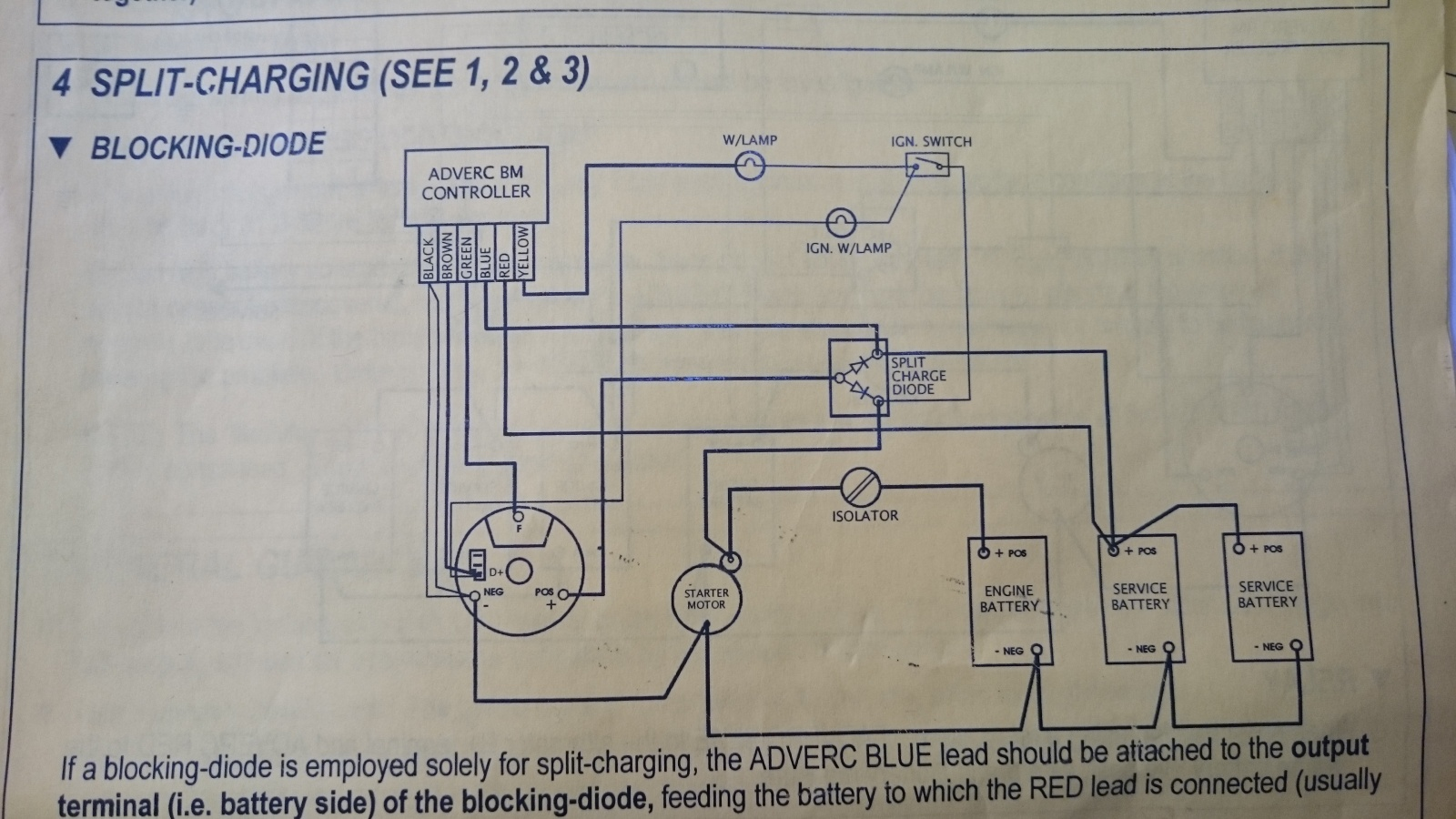 Fried My Alternator Cruisers Sailing Forums Restaurant Electrical Wiring Diagrams Here Is The Diagram Click Image For Larger Version Name Dsc 0485 Views 1090 Size 3883