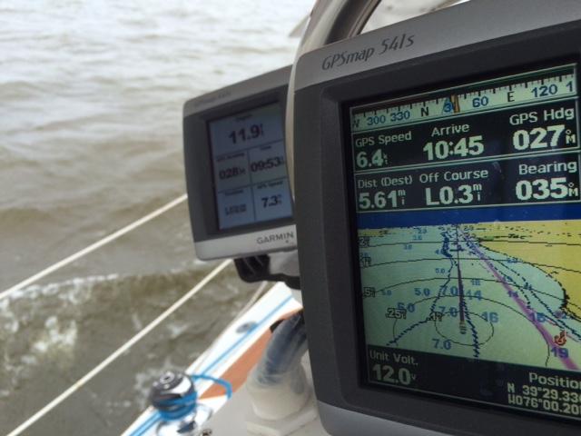 AIS on tiny Garmin 440s screen - Cruisers & Sailing Forums