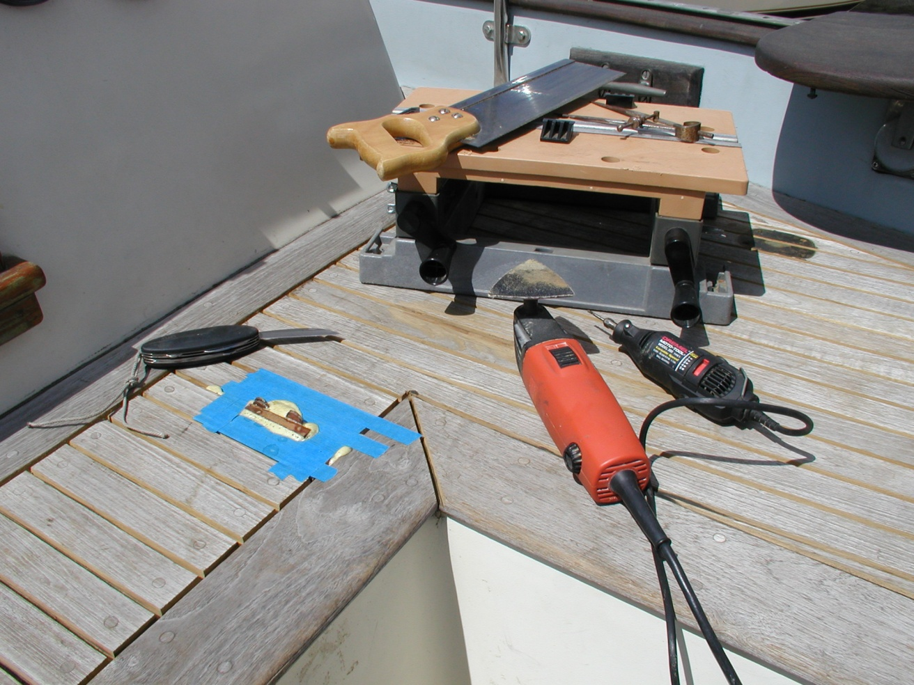 Click image for larger version  Name:Tools Required for Teak Deck Repair.jpg Views:353 Size:429.0 KB ID:10890