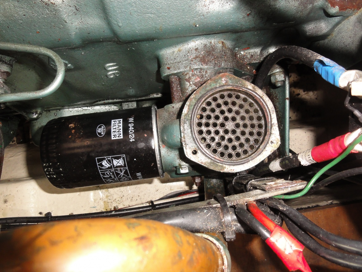 Perkins 4 236 oil cooler problems - Cruisers & Sailing Forums