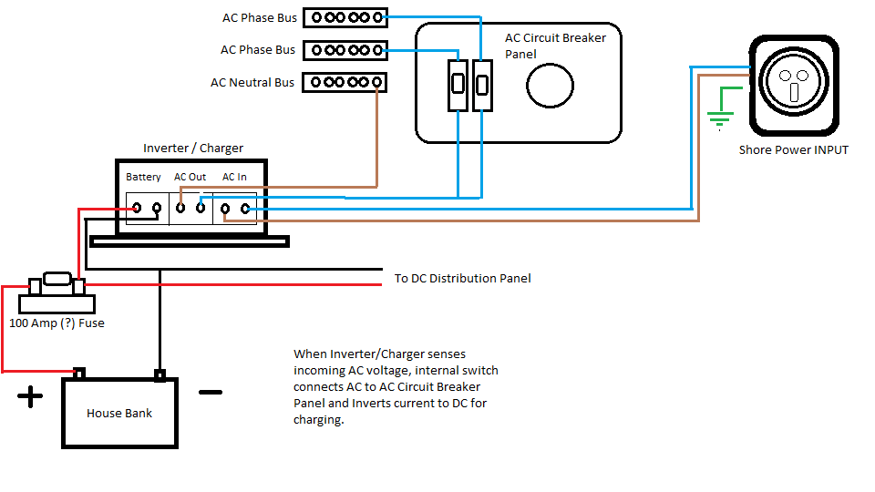 Invertercharger battery drain cruisers sailing forums click image for larger version name invertercharger wiring diagramg views 295 size cheapraybanclubmaster Image collections