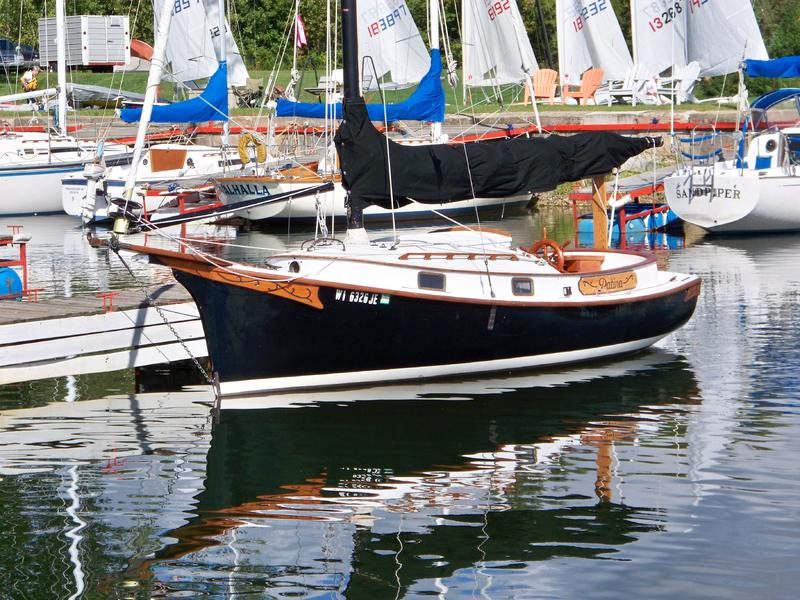 Click image for larger version  Name:Herreshoff Eagle 22ft water.jpg Views:98 Size:113.1 KB ID:113139
