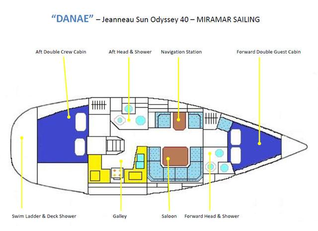 For Sale Jeanneau Sun Odyssey 40 1999 Cruisers Sailing Forums