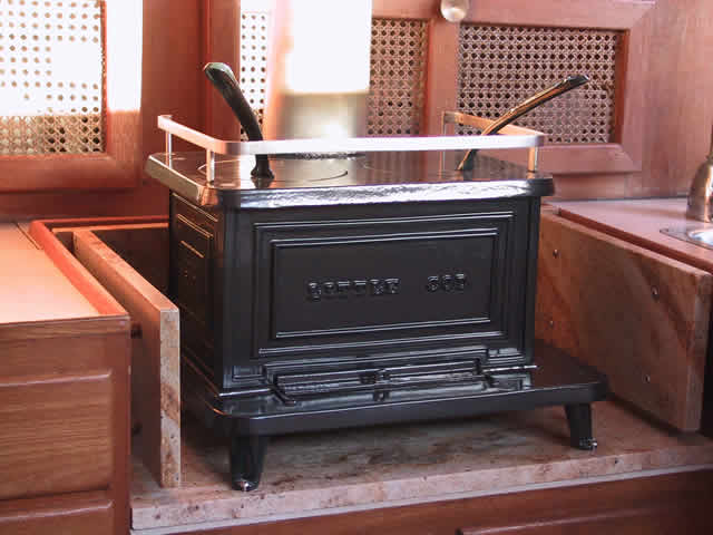 For Sale: Little Cod Woodstove - Never Been Used - Cruisers