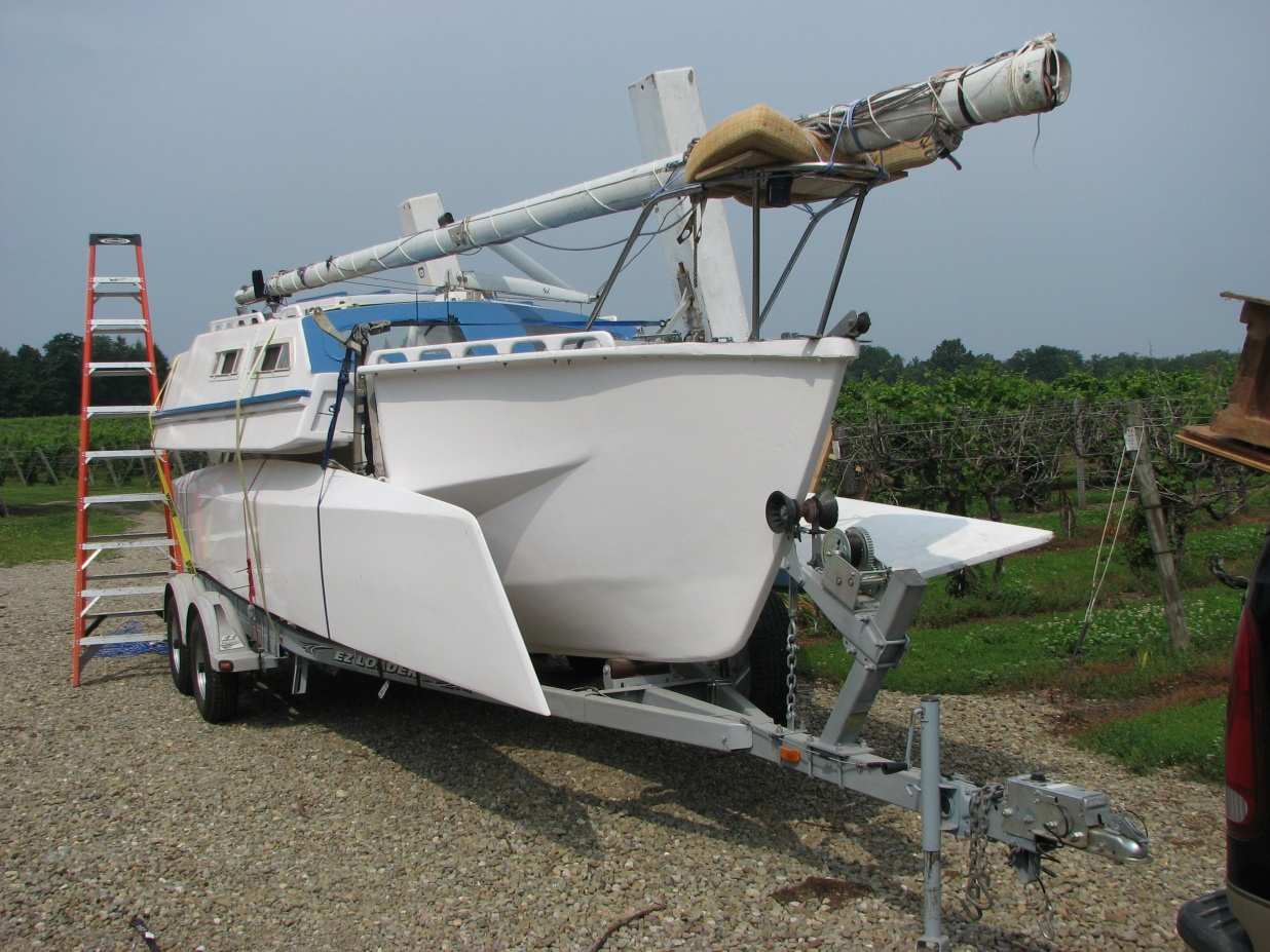 For Sale: Farrier TT 720 Trimaran Project - Cruisers & Sailing Forums