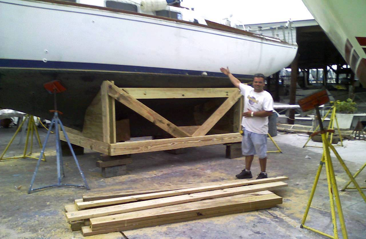 how to build a large boat
