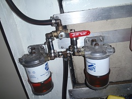 Primary Fuel Filter Changing - Cruisers & Sailing Forums | Volvo Boat Fuel Filter Location |  | Cruisers Forum