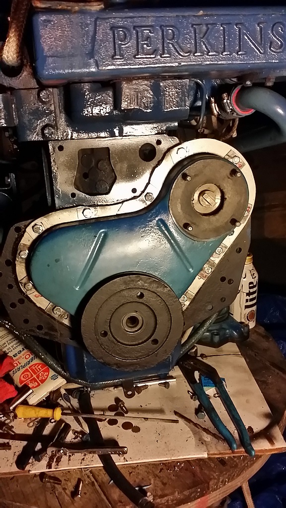 Perkins 4-108 oil leaks solved - Cruisers & Sailing Forums