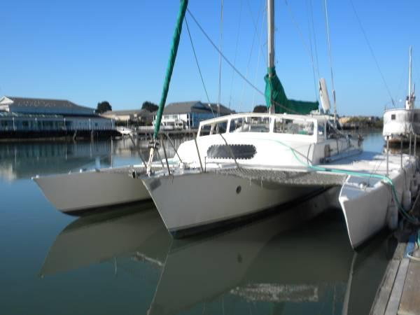 SOLD] SeaRunner 37 Trimaran San Diego - Cruisers & Sailing