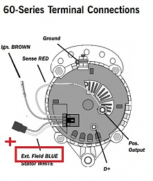 Volvo Penta Alternator Regulation By Mastervolt Alpha Pro II - Cruisers &  Sailing Forums | Volvo Alternator Wiring Connectors |  | Cruisers Forum