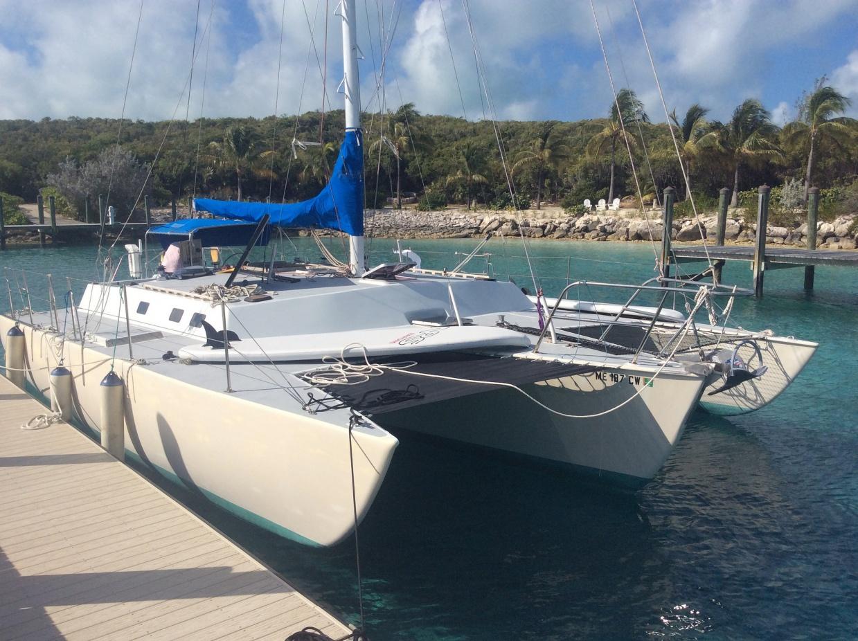 For Sale: 40' Norman Cross Trimaran - Cruisers & Sailing Forums