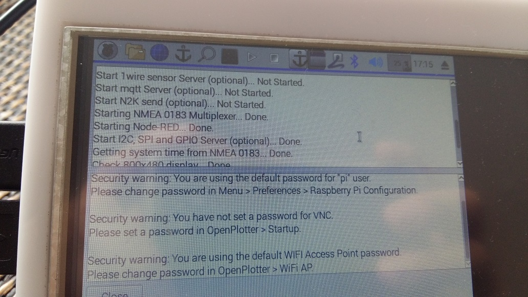 Sending gps signal over wifi with Opencpn - Cruisers