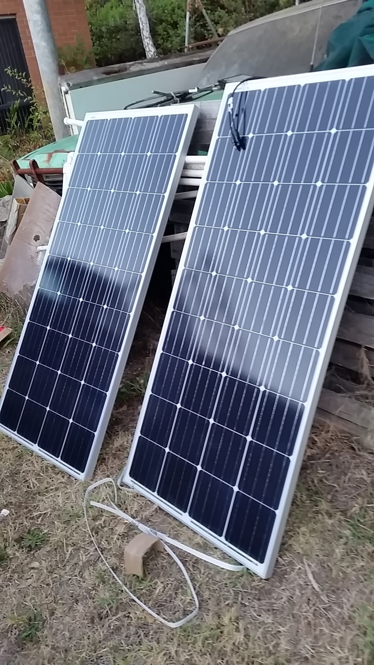 New Solar System Cruisers Sailing Forums Wiring A Small Battery Bank Panels Forum Click Image For Larger Version Name Boat March 2018 002