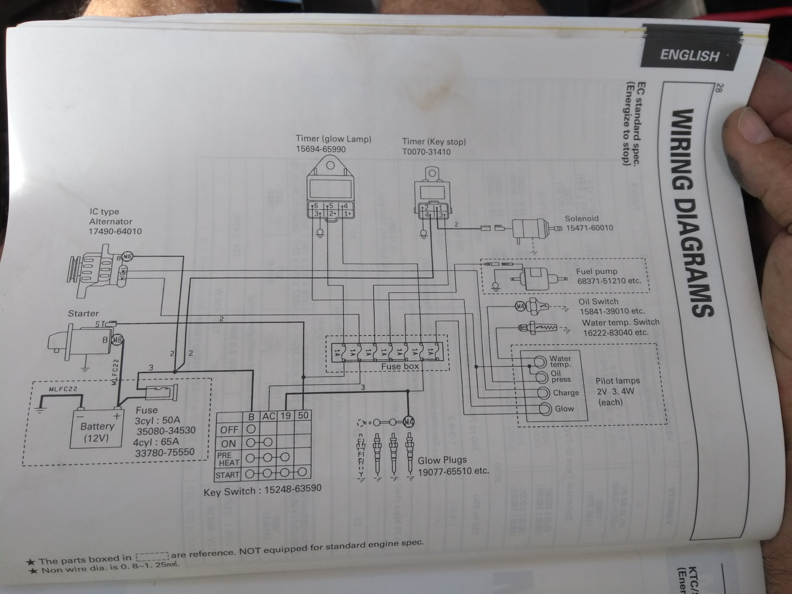 Kubota Alternator Terminals Schematic - Cruisers & Sailing ... on denso 12v fan motor, how alternator works diagram, denso relay cross reference, toyota alternator diagram, ac wiring diagram, dual alternators wiring diagram, vw wiring diagram, starter wiring diagram, denso starter diagram, denso online catalog, car alternator diagram, denso logo, alternator schematic diagram, denso 3 wire altenator, alternator electrical diagram, denso relay diagram, denso compressor cross reference, alternator components diagram, denso connect,