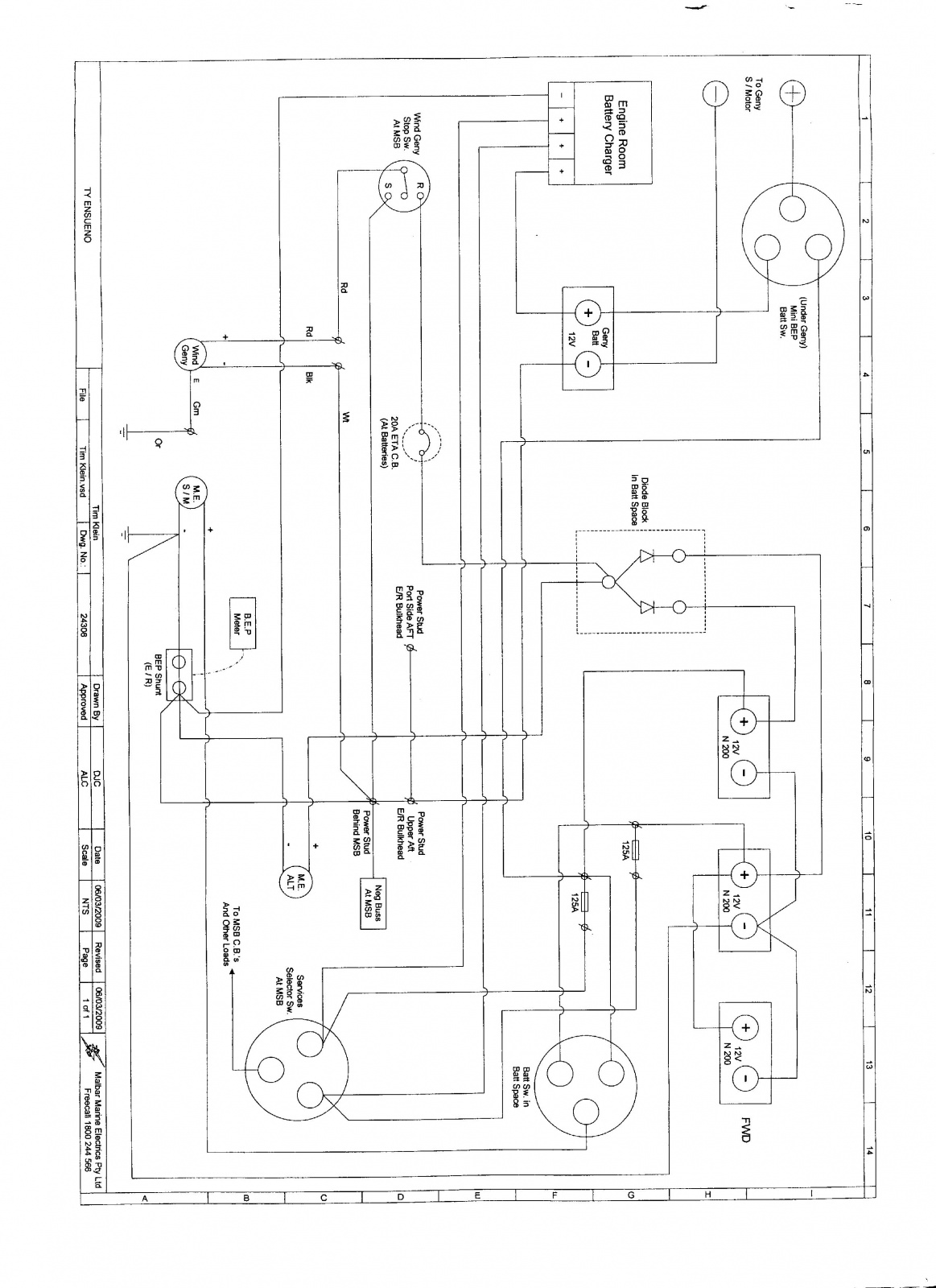 Genset Alternator Inverter Charger Questions Cruisers Bep Wiring Diagram Click Image For Larger Version Name Img023 Views 576 Size 3353