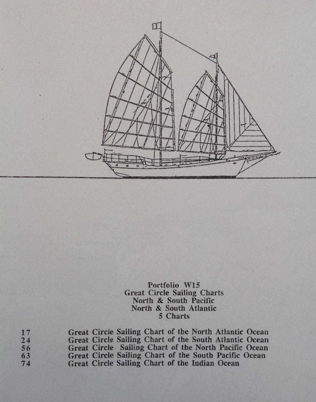 Click image for larger version  Name:Portfolio W15  Great Circle Sailing Charts   5 Charts.jpg Views:45 Size:368.0 KB ID:173813