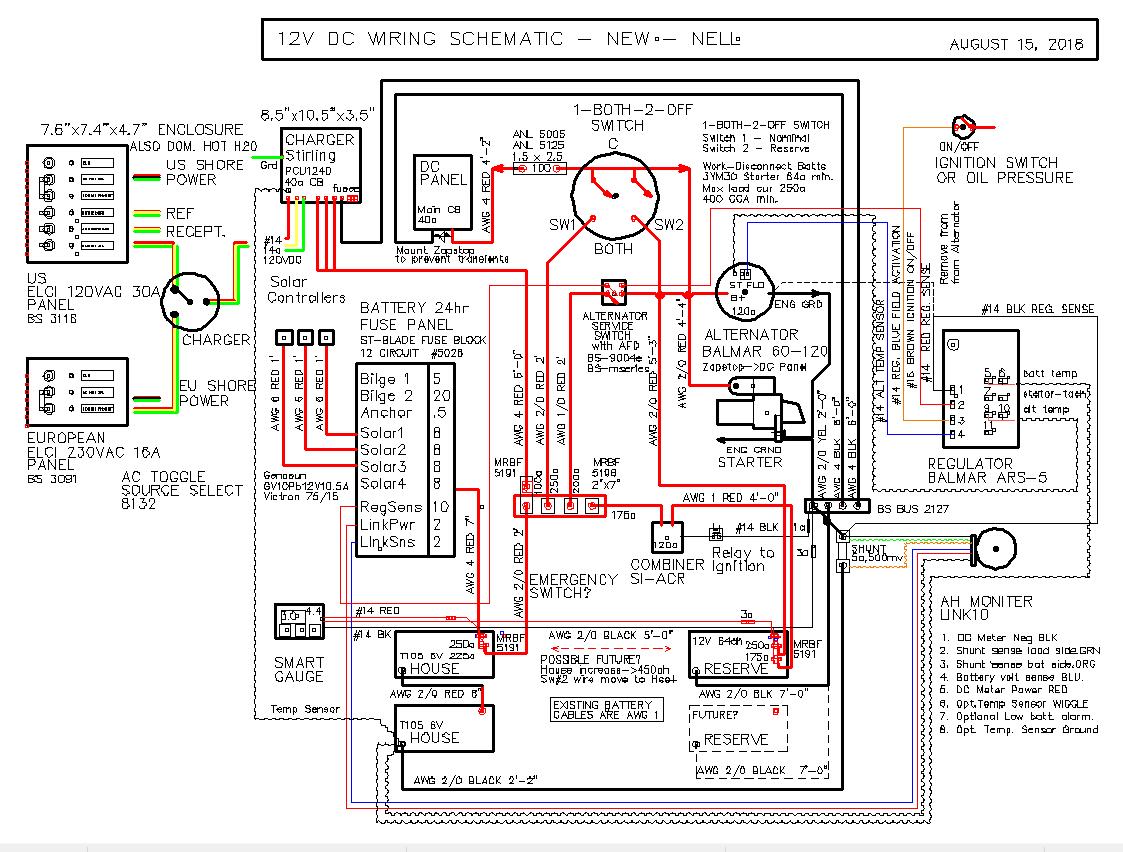 Sailboat Wiring Diagram Dc. . Wiring Diagram on