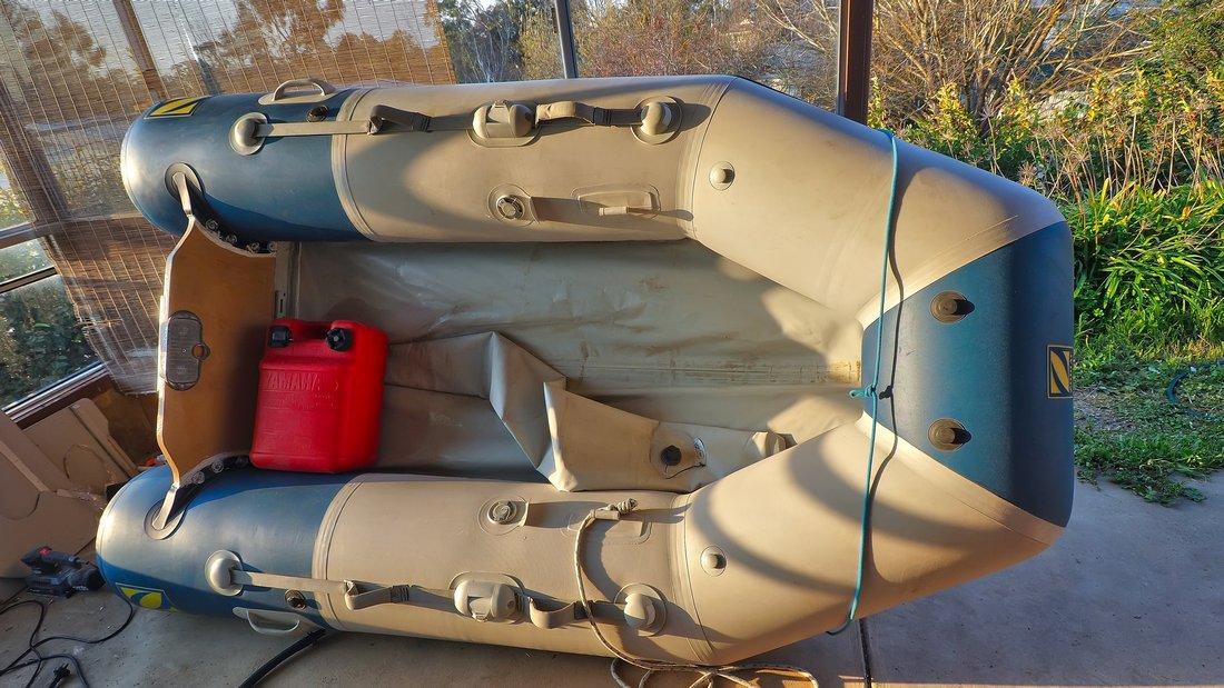 Dinghy glue repair at transom - Cruisers & Sailing Forums