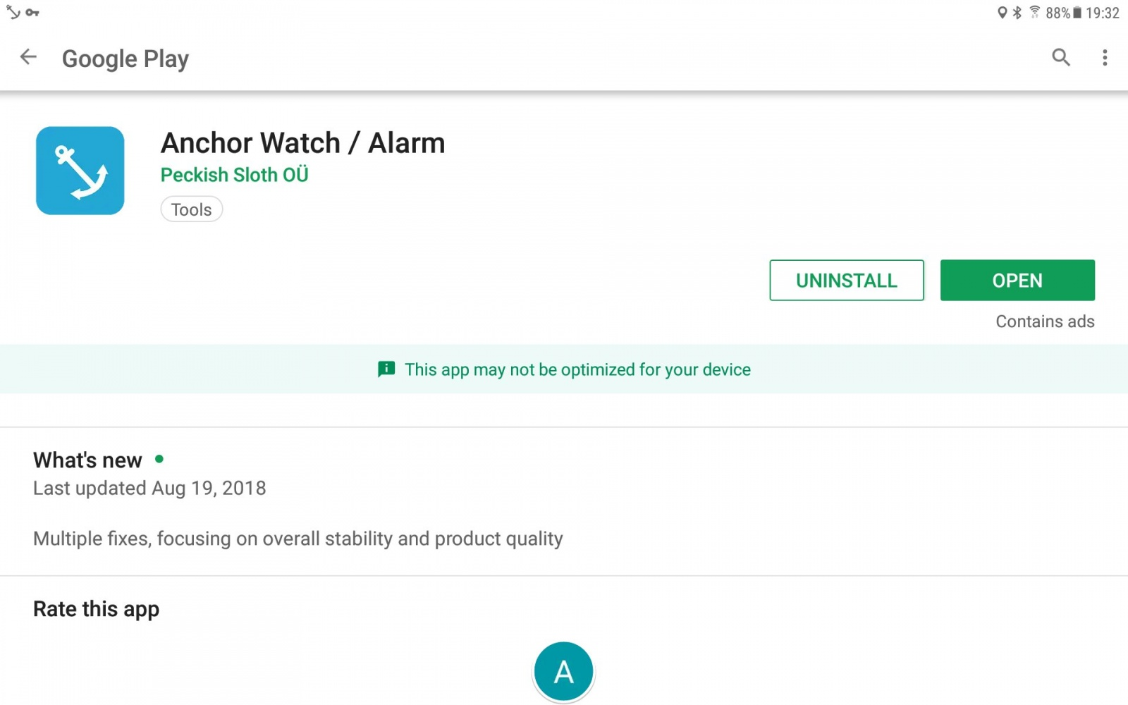 Best Anchor Watch/Alert/Alarms apps? - Cruisers & Sailing Forums
