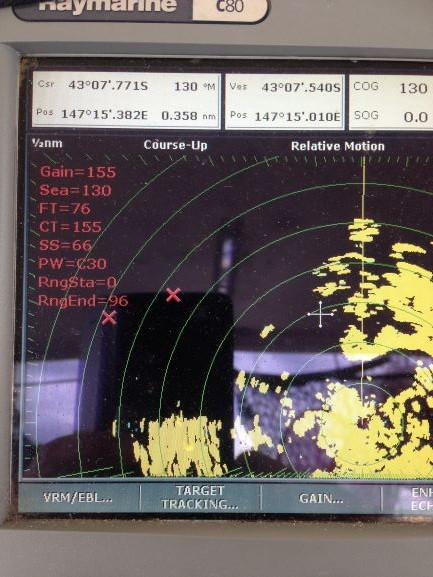 Fading echo on M92650-S 2KW 18″ Raymarine Radar - Cruisers & Sailing